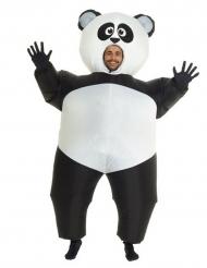 Puhallettava Panda Morphsuits™ asu aikuisille