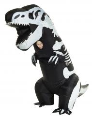 Morphsuits™- puhallettava dinosauruksen luuranko -asu lapselle