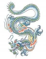 Siirtotatuointi Lohikäärme