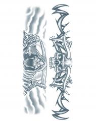 Aikuisten tatuointi - Viikatemies