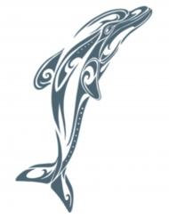 Siirtotatuointi Delfiini