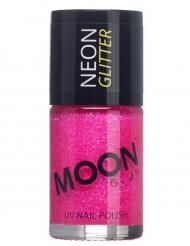 Moon Glow© Neon Glitter -fuksia kynsilakka