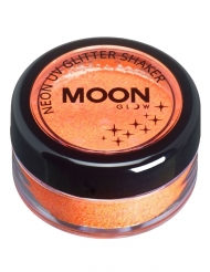 Moonglow© Neon UV Glitter Shaker -oranssi