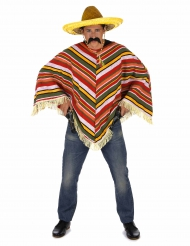 Meksikolais-tyylinen poncho aikuisille