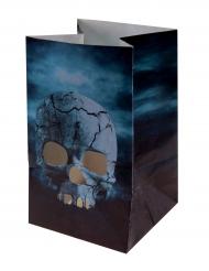Kauhujen yö- paperiset halloween-lyhdyt 6 x 10 cm 6 kpl