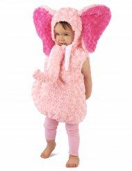 Pieni elefantti-naamiaisasu lapsille (vaaleanpunainen)