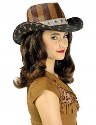 Länsiamerikkalainen luksus hattu aikuiselle