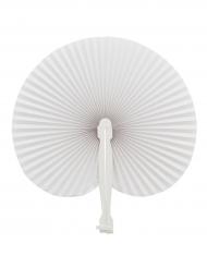Valkoinen taitettava viuhka