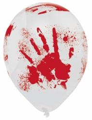 Veriset kädenjäljet - Halloween ilmapallot