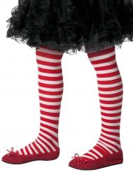 Valkopunaiset sukkahosuut lapselle