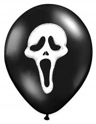 Kuusi lateksista Scream- ilmapalloa halloween