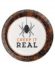 Creep it real- pahvilautaset 18 cm 8 kpl