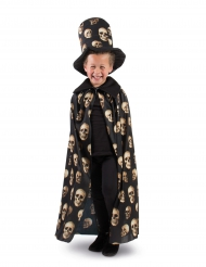 Pääkalloviitta ja silinterihattu lapselle halloween