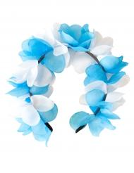 Hiuspanta sinivalkoisilla kukilla