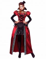 Viktoriaanisen vampyyrin naamiaisasu naiselle halloween