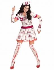 Sairaanhoitajan zombi- naamiaisasu naiselle