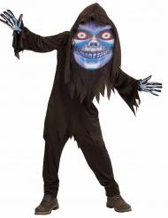 Suuripäisen viikatemiehen naamiaisasu nuorelle halloween