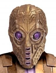 Kultaisen robotin naamari aikuiselle