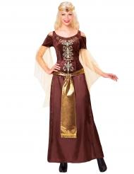 Viikinkikuningattaren naamiaisasu naiselle