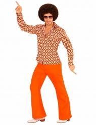 Oranssi discopaita aikuiselle
