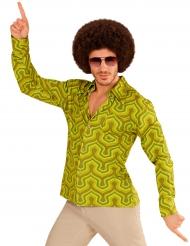 Vihreä groovy-paita miehelle