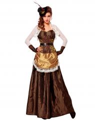 Ihana steampunk mekko - Naamiaisasu aikuisille