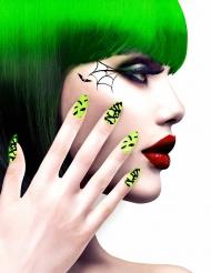 Vihreät halloween-tekokynnet