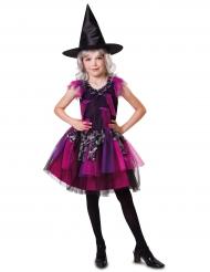 Noidan tyylikäs naamiaisasu tytölle halloweeniksi