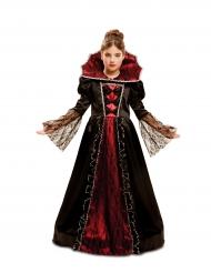 Barokkivampyyrin naamiaisasu tytölle halloween