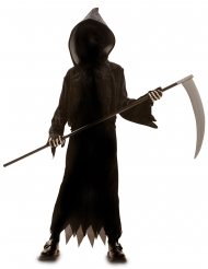 Näkymättömän viikatemiehen naamiaisasu lapselle halloween