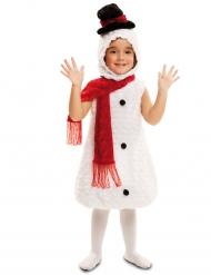 Lumiukon naamiaisasu lapselle joulu