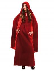 Punaisen noidan naamiaisasu naiselle