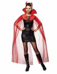 Paholaisen viitta naiselle halloween