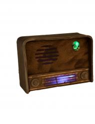 Radiokoriste ääni- sekä valoefekteillä 31 x 11 cm halloween