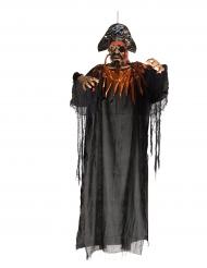 Ripustettava halloween - merirosvokoriste valoefektillä 170 cm