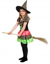 Värikäs noita - Halloweenasu lapsille