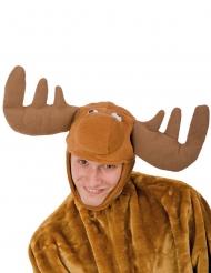 Jouluporon pehmustettu hattu aikuiselle