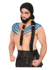 Gladiaattorin peruukki ja parta