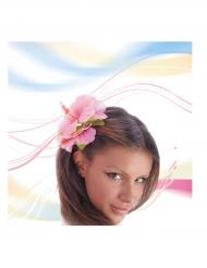 Vaaleanpunainen hiuskukka aikuiselle