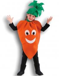 Pirteä Porkkana -naamiaisasu lapselle