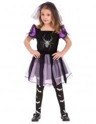 Hämähäkkiprinsessa - Lasten Halloween asu