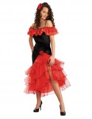 Espanjalaisen tanssijattaren naamiasiasu naiselle
