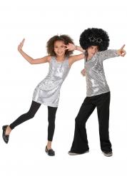 Hopeanväriset discoasut lapsille