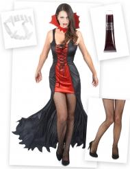 Seksikäs vampyyriasu - Täydellinen vampyyrisetti aikuisille