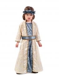 Keskiaikaisen prinsessan naamiaisasu lapselle
