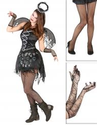 Goottienkeli - Halloween asusetti aikuisille