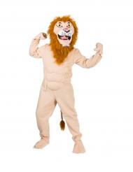 Lihaksikas Leijona -naamiaisasu aikuisille