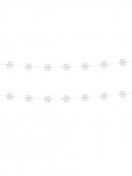 Valkoiset lumihiutale-köynnökset 180 cm