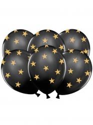 Mustat tähtipallot 6 kpl