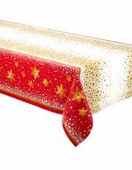 Punakultainen joululiina 137 x 213 cm